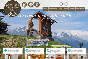 Locations Valloire en Maurienne